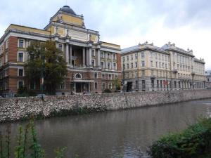 Austro-Hungarian architecture in Sarajevo- photo by Gerald Trainor
